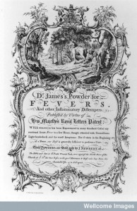 M0015903 'Dr. James's Powder for Fevers'
